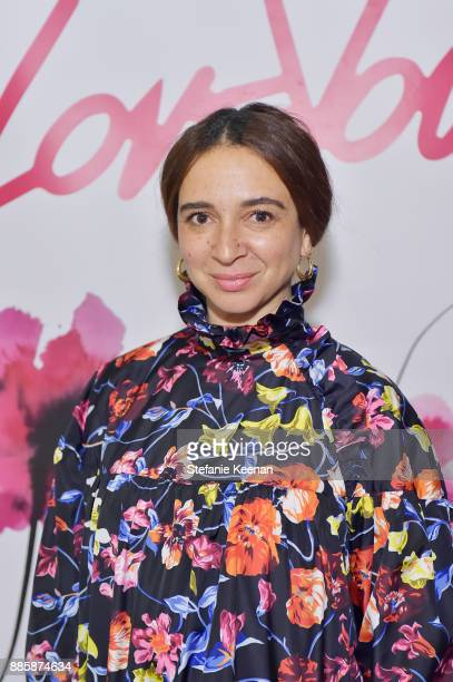 Maya Rudolph attends Molly R Stern X Sarah Chloe Jewelry Collaboration Launch Dinner on December 4 2017 in West Hollywood California