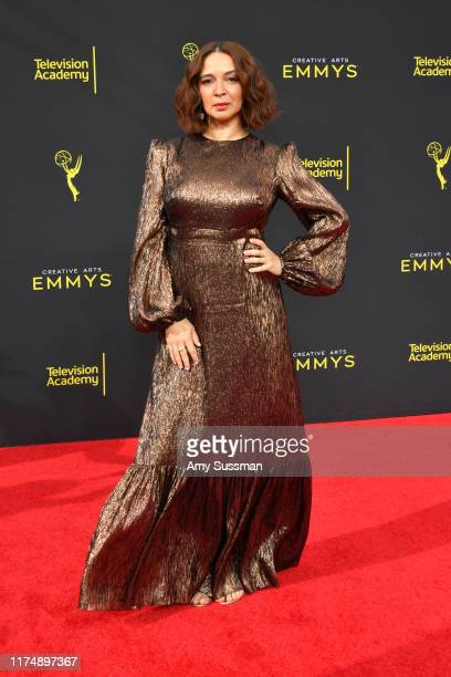 Maya Rudolph attends the 2019 Creative Arts Emmy Awards on September 15 2019 in Los Angeles California