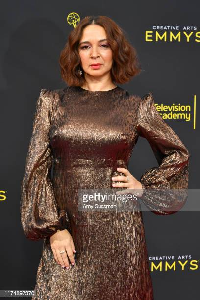 Maya Rudolph attends the 2019 Creative Arts Emmy Awards on September 15, 2019 in Los Angeles, California.