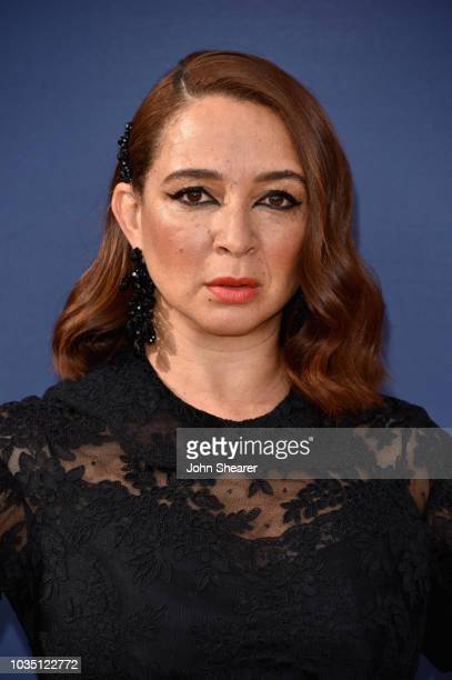 Maya Rudolph attends the 70th Emmy Awards at Microsoft Theater on September 17 2018 in Los Angeles California