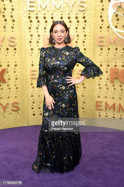 Maya Rudolph attends the 71st Emmy Awards at Microsoft Theater on September 22 2019 in Los Angeles California