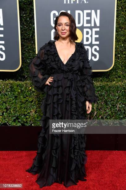 Maya Rudolph attends the 76th Annual Golden Globe Awards at The Beverly Hilton Hotel on January 6 2019 in Beverly Hills California