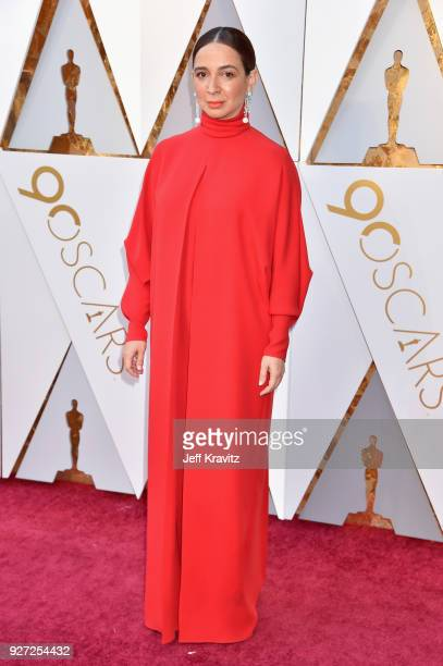 Maya Rudolph attends the 90th Annual Academy Awards at Hollywood Highland Center on March 4 2018 in Hollywood California