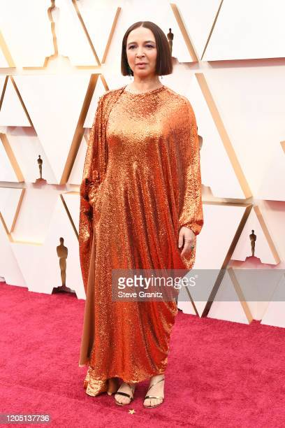 Maya Rudolph attends the 92nd Annual Academy Awards at Hollywood and Highland on February 09, 2020 in Hollywood, California.
