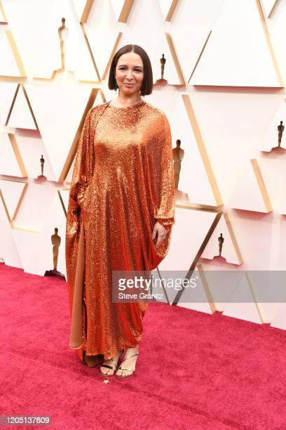 Maya Rudolph attends the 92nd Annual Academy Awards at Hollywood and Highland on February 09 2020 in Hollywood California