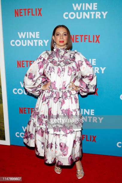 Maya Rudolph attends the Netflix Premiere of Wine Country on May 08 2019 in New York City