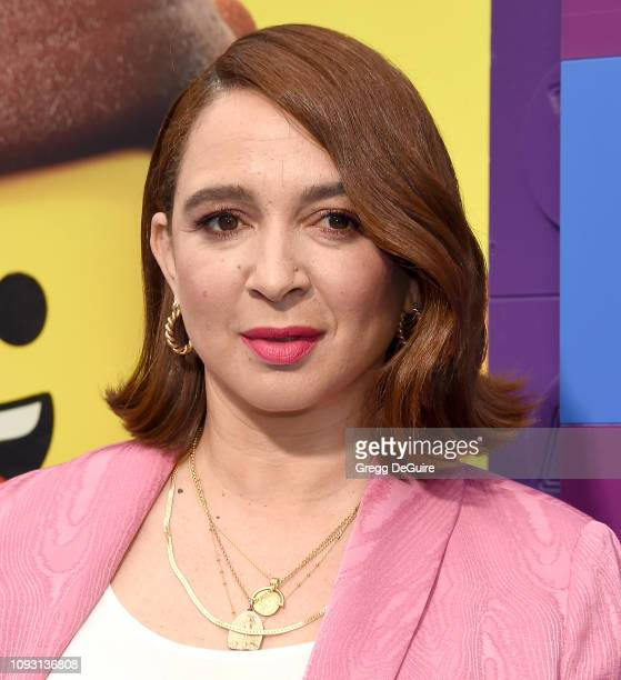 Maya Rudolph attends the premiere of Warner Bros Pictures' The Lego Movie 2 The Second Part at Regency Village Theatre on February 2 2019 in Westwood...