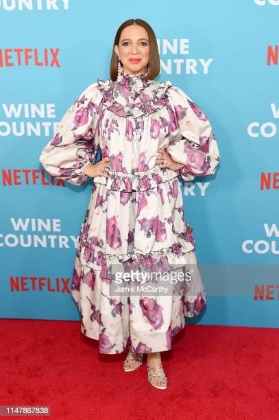 Maya Rudolph attends the Wine Country World Premiere at Paris Theatre on May 08 2019 in New York City