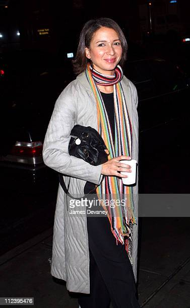 Maya Rudolph during Sarah Michelle Gellar Hosts SNL AfterParty at Times Square in New York City New York United States