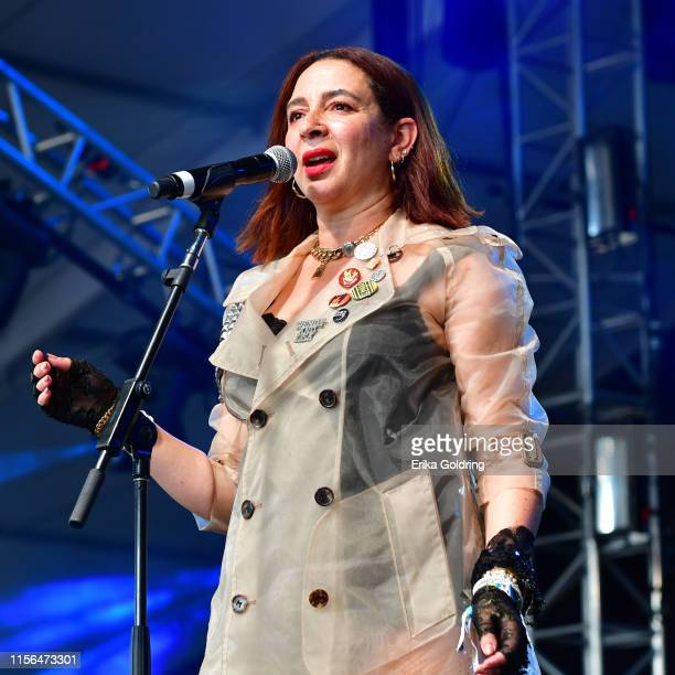 Maya Rudolph of Princess performs during 2019 Bonnaroo Music Arts Festival on June 16 2019 in Manchester Tennessee
