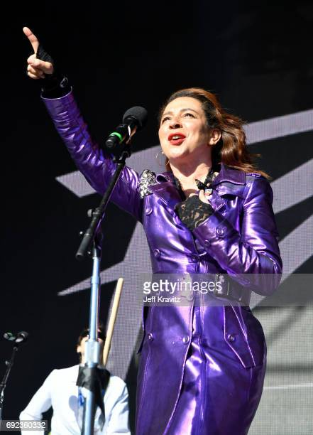 Maya Rudolph of Princess performs onstage at the Colossal Stage during Colossal Clusterfest at Civic Center Plaza and The Bill Graham Civic...