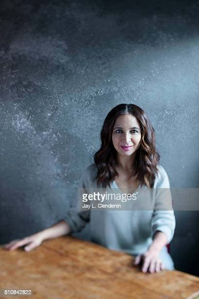 Maya Rudolph of the film 'Mr Pig' poses for a portrait at the 2016 Sundance Film Festival on January 25 2016 in Park City Utah CREDIT MUST READ Jay L...