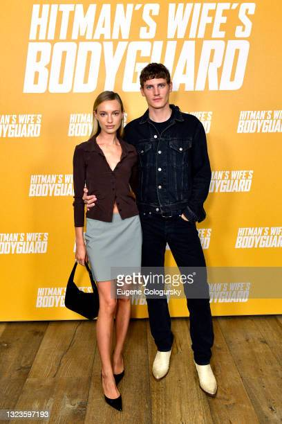 """Maya Stepper attends the """"Hitman's Wife's Bodyguard"""" special screening at Crosby Street Hotel on June 14, 2021 in New York City."""