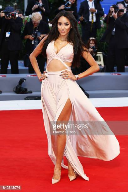Maya Talem walks the red carpet ahead of the 'The Leisure Seeker ' screening during the 74th Venice Film Festival at Sala Grande on September 3 2017...