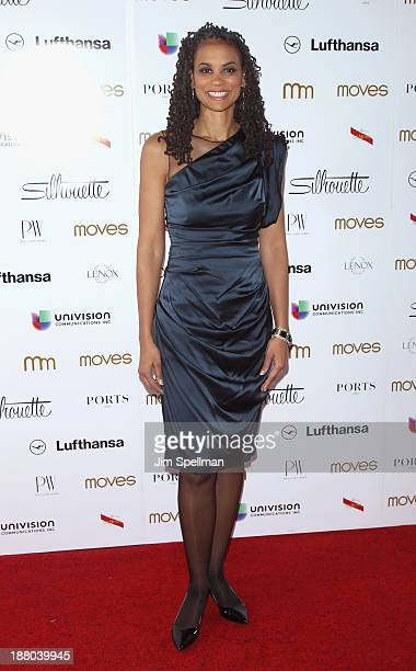 Maya Wiley attends the New York Moves Magazine's 10th Anniversary Power Women Gala at the Grand Hyatt New York on November 14 2013 in New York City
