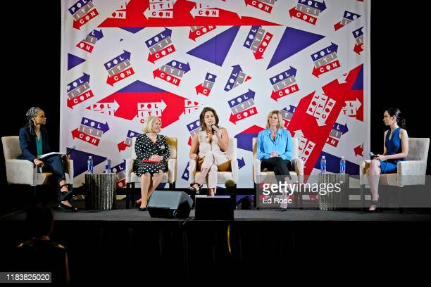 Maya Wiley Jill WineBanks Lauren Duca Danielle Crittenden and Lauren Chen speak onstage during day 2 of Politicon 2019 at Music City Center on...