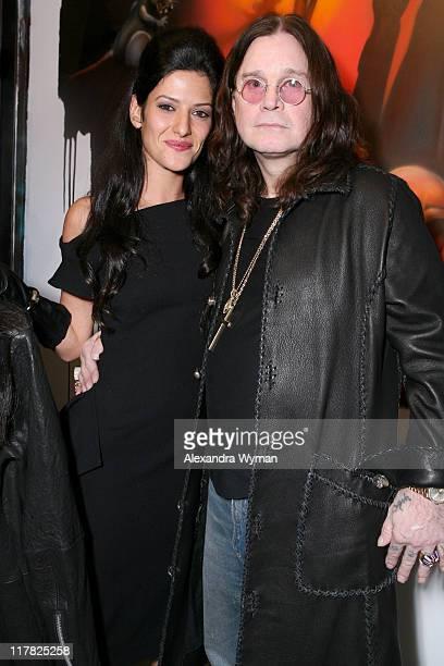 Maya Yogev and Ozzy Osbourne during Black Sabbath Resurrection Reveals Their Untold Story Through Retrospective Art and New Black SabbathInspired...