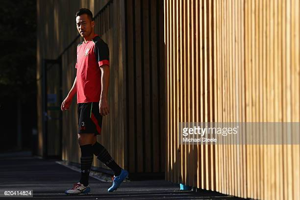 Maya Yoshida during the Southampton training session at Staplewood Training Ground on November 2 2016 in Southampton England