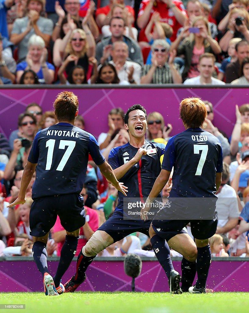 Olympics Day 8 - Men's Football Q/F - Match 25 - Japan v Egypt : ニュース写真