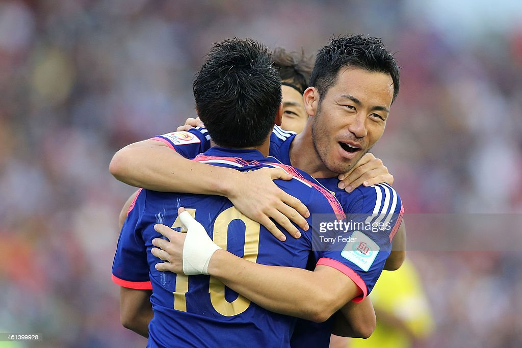 Japan v Palestine - 2015 Asian Cup : ニュース写真