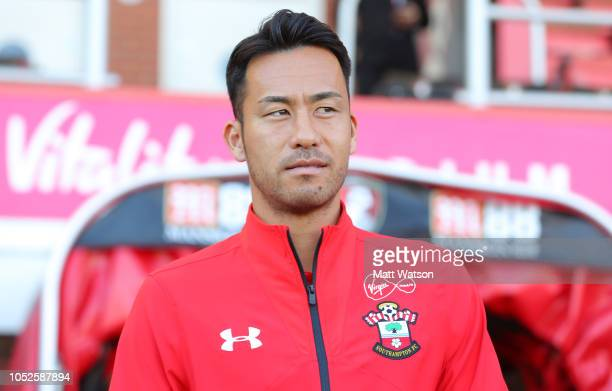 Maya Yoshida of Southampton during the Premier League match between AFC Bournemouth and Southampton FC at Vitality Stadium on October 20 2018 in...