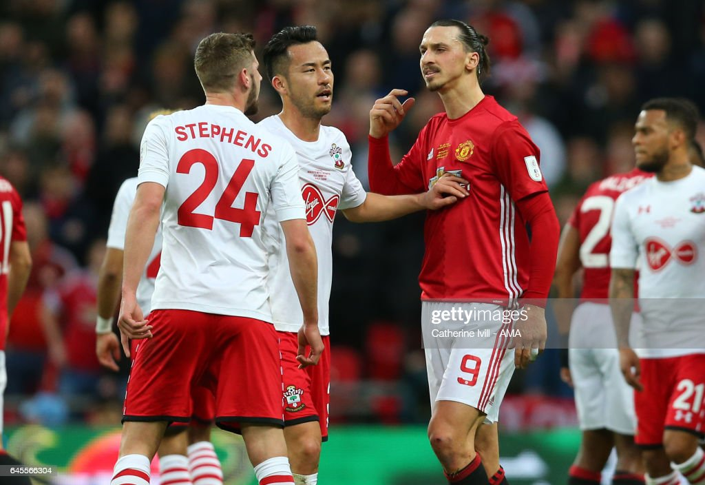 Southampton v Manchester United - EFL Cup Final : News Photo