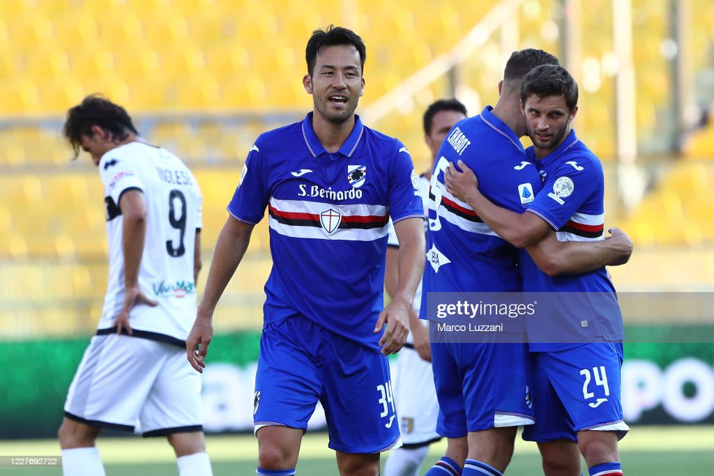 Parma Calcio v UC Sampdoria - Serie A : ニュース写真