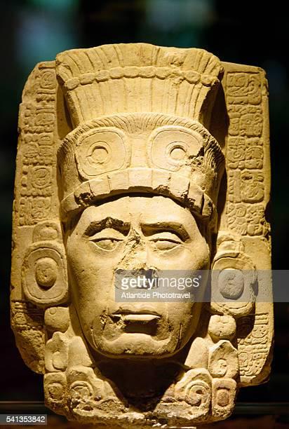 Mayan Classic Period Anthropomorphic Stone Sculpture