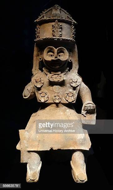 Mayan God of Rain worshiped by the Mayans along the Gulf of Mexico 300900 AD Baked clay