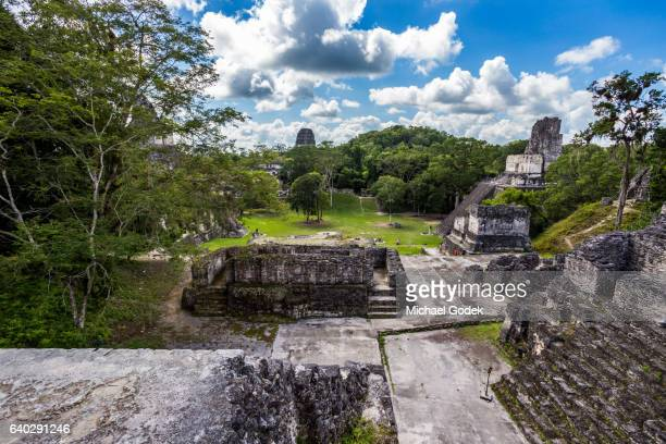 Mayan ruins at Tikal National Park