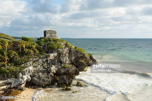 Mayan ruins by the sea, Tulum