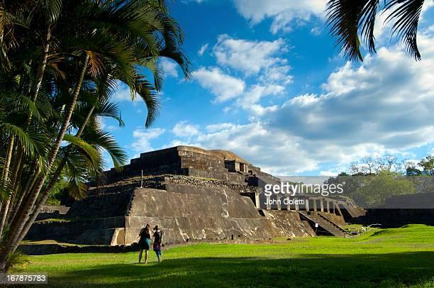 Mayan Ruins, Tazumal Pyramid, El Salvador