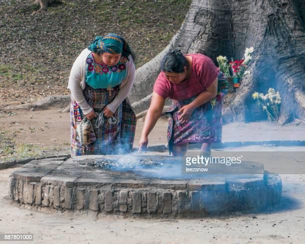Mayan Shaman Ritual