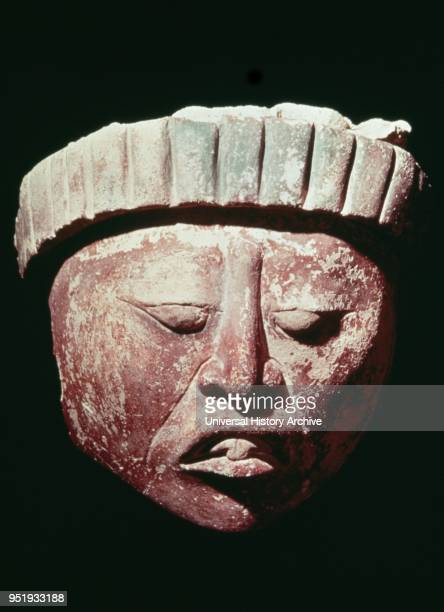 Mayan stucco head 400700 AD Jaina Island Jaina Island is a preColumbian Maya archaeological site in the presentday Mexican state of Campeche A small...