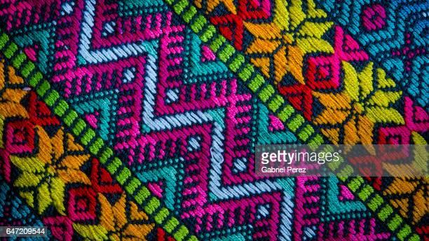 A Mayan Textile from San Cristobal de las Casas, Chiapas