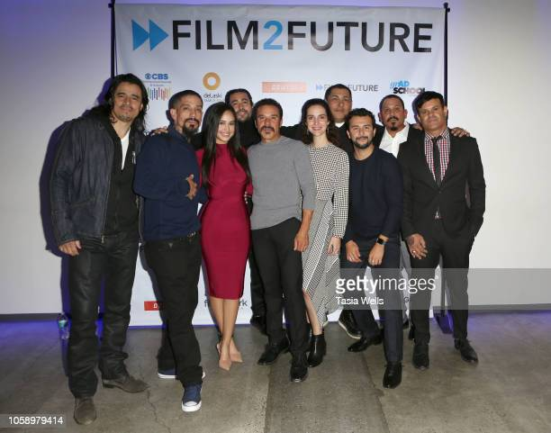 'Mayans MC' cast attends the Film2Future Year 3 Gala on November 7 2018 in Los Angeles California