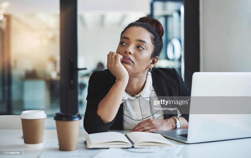 Maybe I'm not meant for a desk job : Stock Photo