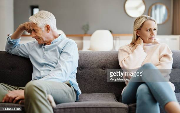 maybe we need to see a couple's counsellor - esposa imagens e fotografias de stock