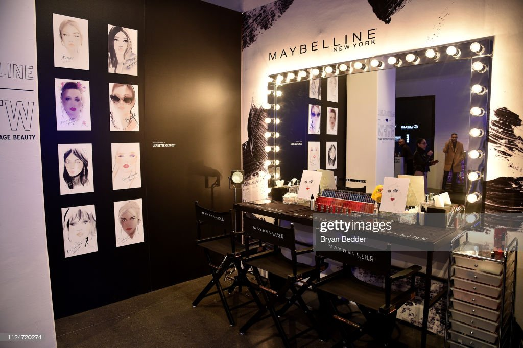 Maybelline New York's Lip & Lash Bar at News Photo - Getty Images