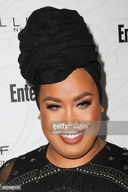 Maybelline social influencer Patrick Starr arrives at the Entertainment Weekly celebration honoring nominees for The Screen Actors Guild Awards at...