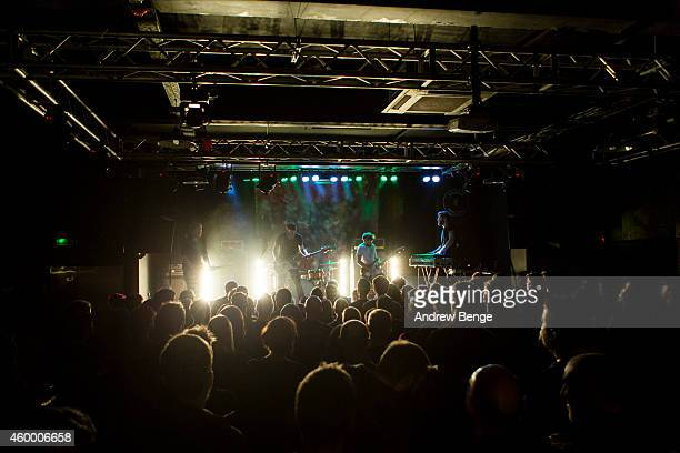 Maybeshewill perform on stage at Belgrave Music Hall on December 5 2014 in Leeds United Kingdom