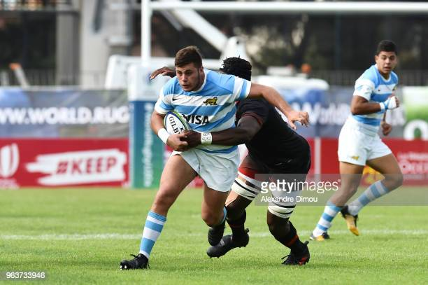 Mayco Vivas of Argentina during the World Championship U 20 match between England and Argentina on May 30 2018 in Narbonne France