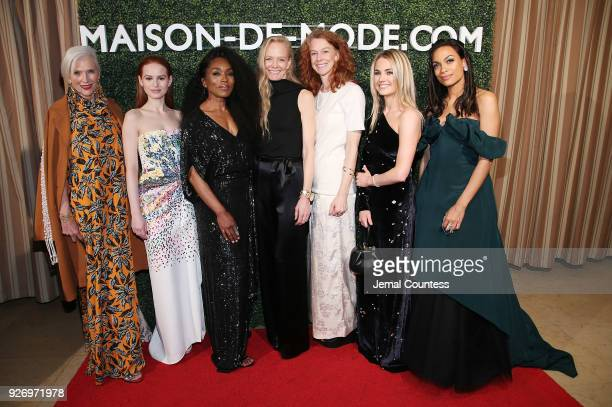Maye Musk actress Madelaine Petsch actress Angela Bassett Cofounder of RCGD/MUSE Suzy Amis Cameron Cofounder of RCGD/MUSE Rebecca Amis CoFounder of...