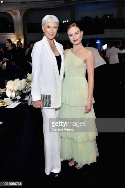 Maye Musk and Kate Bosworth attend Learning Lab Ventures 2019 Gala Presented by Farfetch at Beverly Hills Hotel on January 31 2019 in Beverly Hills...