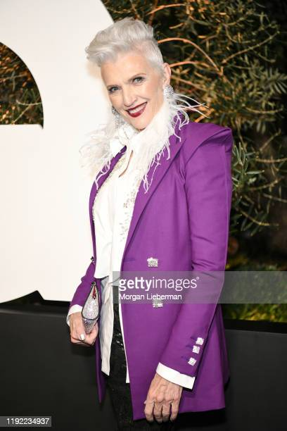 Maye Musk arrives at the 2019 GQ Men Of The Year event at The West Hollywood Edition on December 05 2019 in West Hollywood California