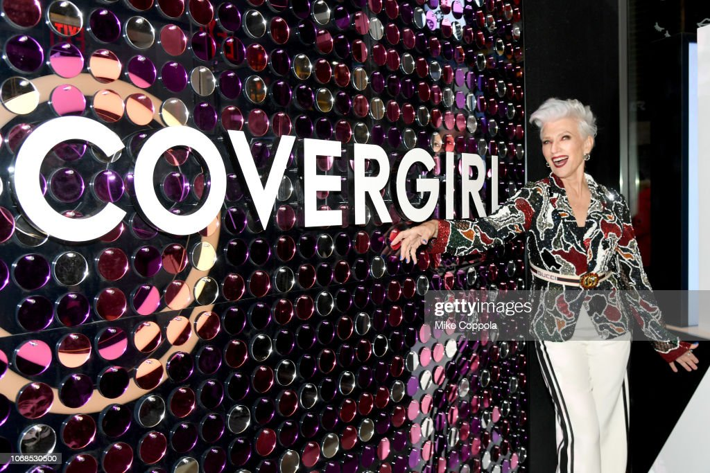 COVERGIRL Opens The Doors To Their First Flagship Store; An Experiential Makeup Playground In The Heart Of New York City : News Photo
