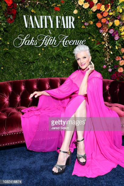Maye Musk attends as Vanity Fair and Saks Fifth Avenue celebrate Vanity Fair's BestDressed 2018 at Manhatta on September 12 2018 in New York City