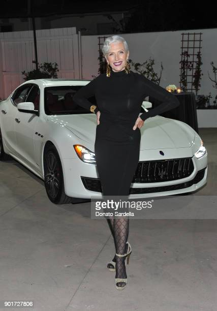Maye Musk attends Esquire and the Medavoys host a party to celebrate the Golden Globes presented by Maserati at Private Residence on January 5 2018...