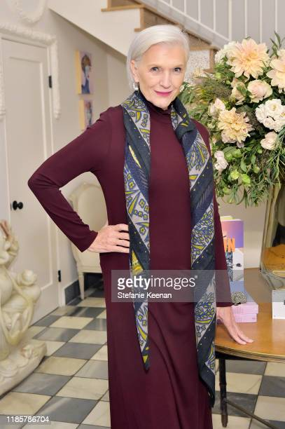 Maye Musk attends Fashion In La Book Launch Celebration at Private Residence on November 05 2019 in Beverly Hills California
