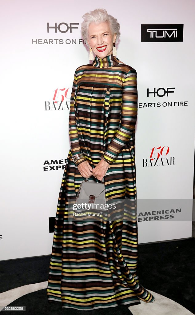 Harper's BAZAAR celebrates 150 Most Fashionable Women at Sunset Tower presented by TUMI in partnership with American Express, La Perla and Hearts On Fire : News Photo